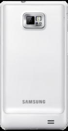 Samsung Galaxy S2 White back