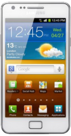 Samsung Galaxy S2 White front