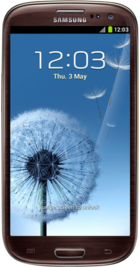 Samsung Galaxy S3 LTE White front
