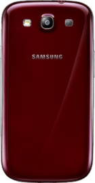 Samsung Galaxy S3 Red back