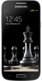 Samsung Galaxy S4 Black Edition front