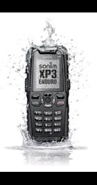 Sonim XP3 Enduro Black back