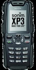 Sonim XP3 Enduro Black front
