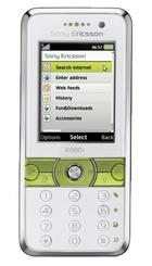 Sony Ericsson K660i Silver front
