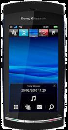 Sony Ericsson Vivaz Black front