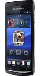 Sony Ericsson Xperia Arc back