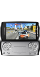 Sony Ericsson Xperia Play back