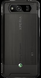 Sony Ericsson Xperia X1 Black back
