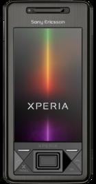 Sony Ericsson Xperia X1 Black front