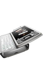 Sony Ericsson Xperia X1 Silver back