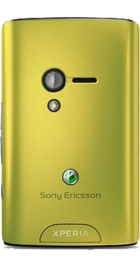Sony Ericsson Xperia X10 Mini Lime side