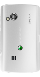 Sony Ericsson Xperia X10 Mini Pro White side