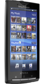 Sony Ericsson Xperia X10 back