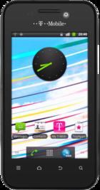 T-Mobile Vivacity Black front